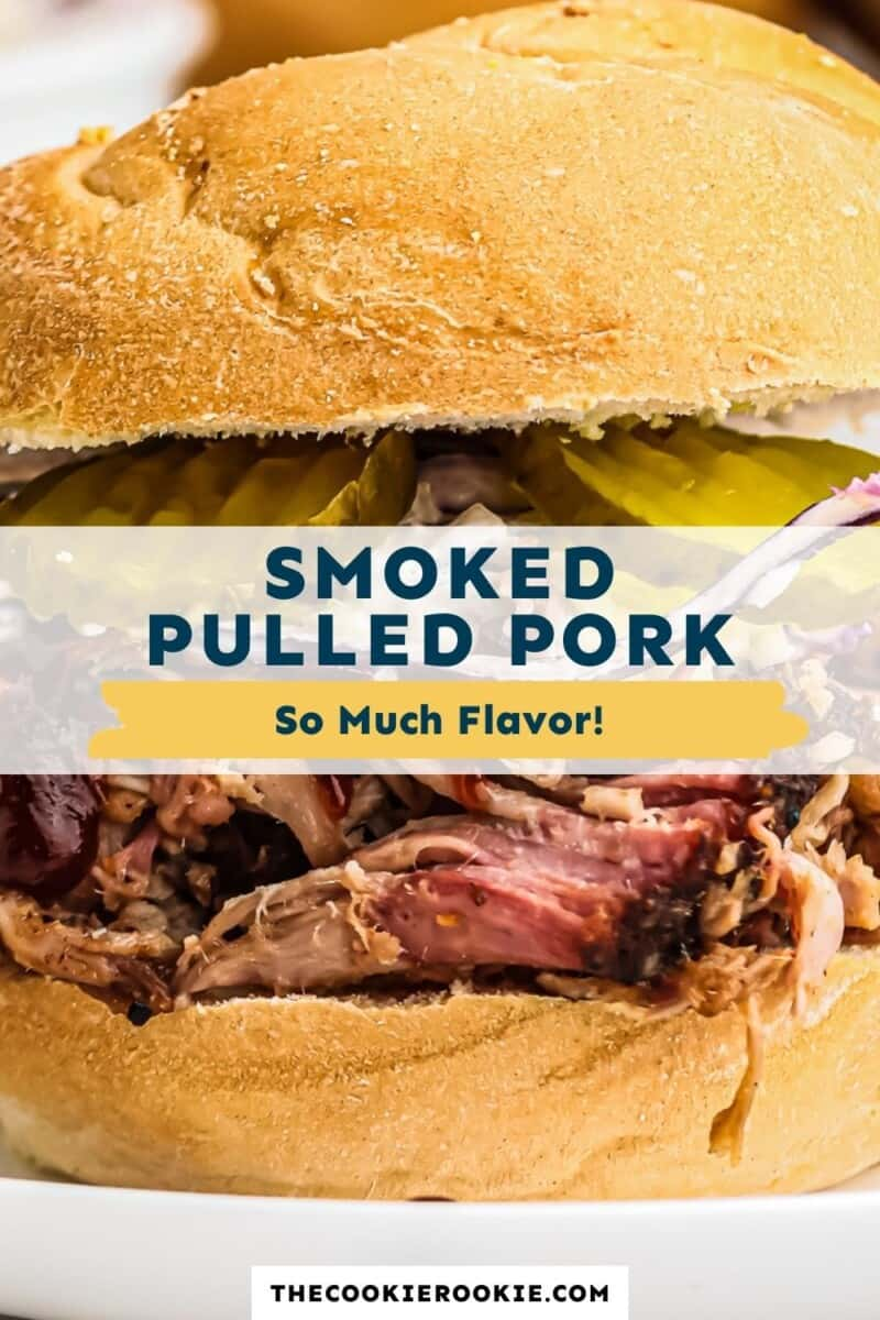 smoked pulled pork pinterest