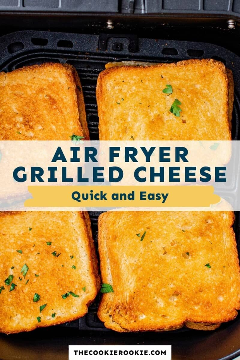air fryer grilled cheese pinterest