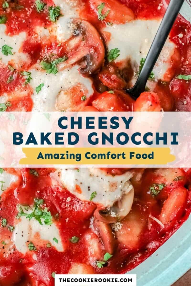 cheesy baked gnocchi pinterest