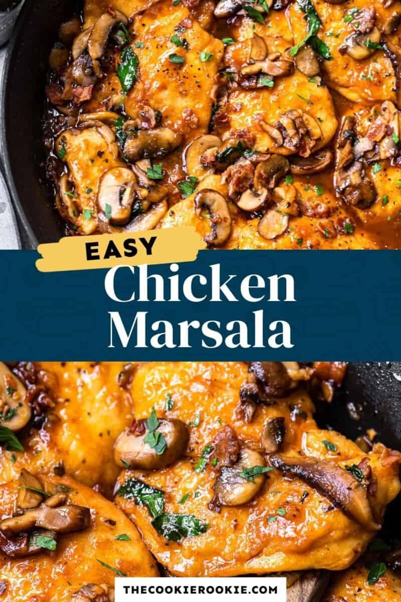 chicken marsala pinterest