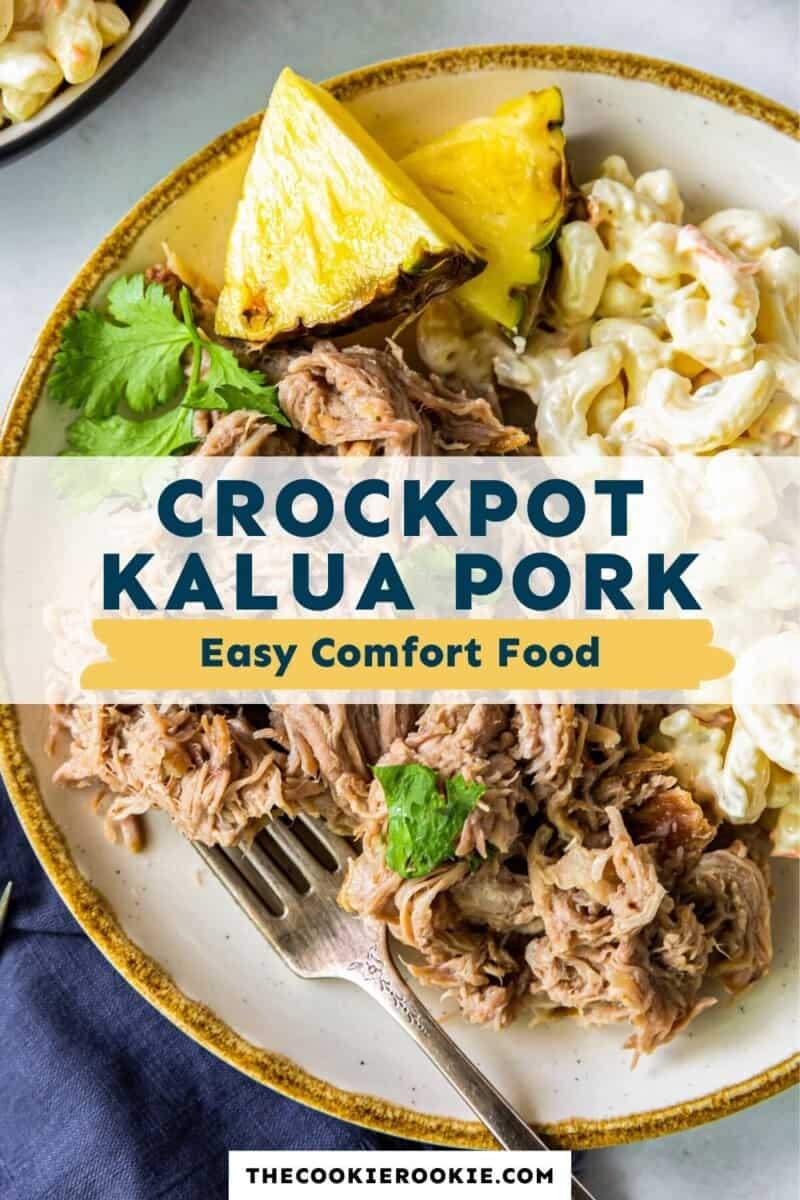 crockpot kalua pork pinterest