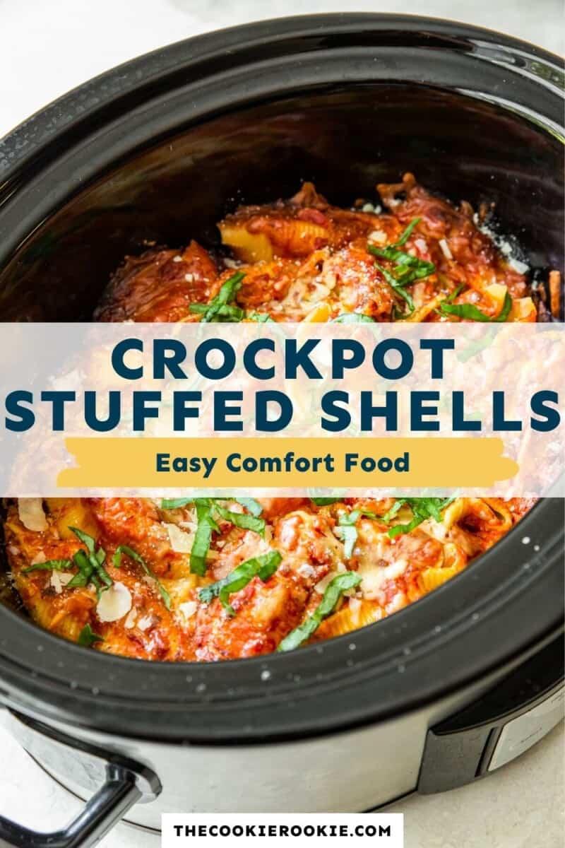 crockpot stuffed shells pinterest