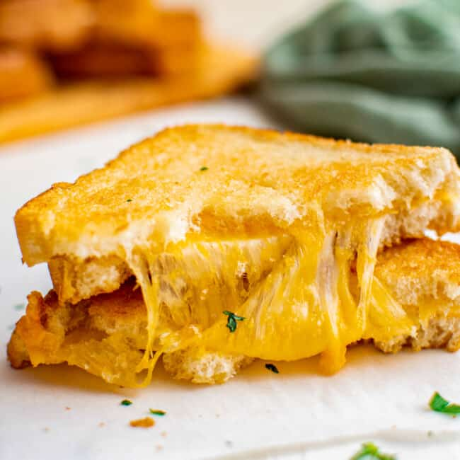 featured air fryer grilled cheese