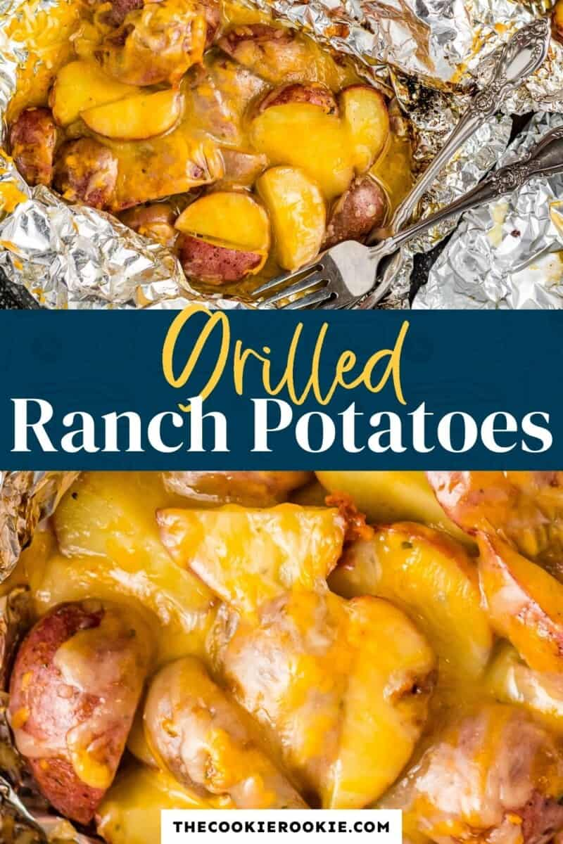 grilled ranch potatoes pinterest