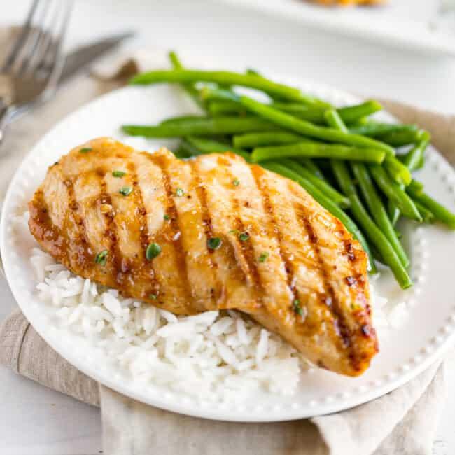 featured grilled teriyaki chicken