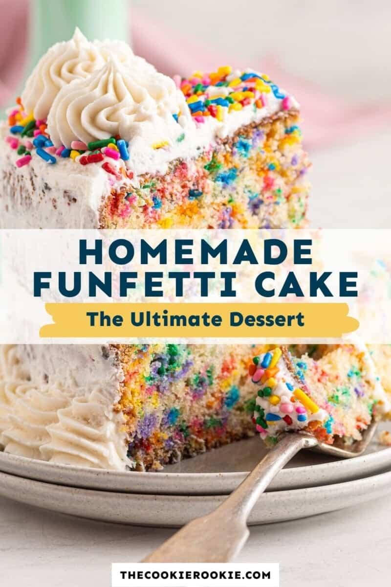 funfetti cake pinterest