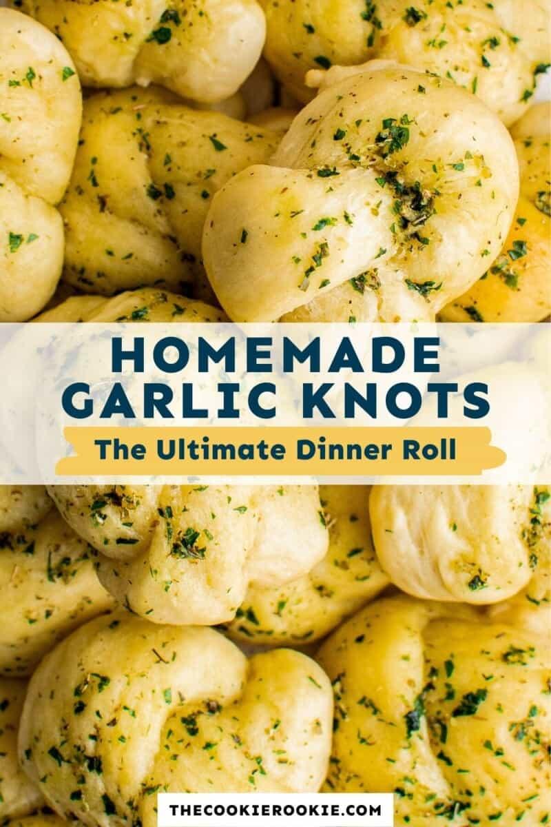 garlic knots pinterest