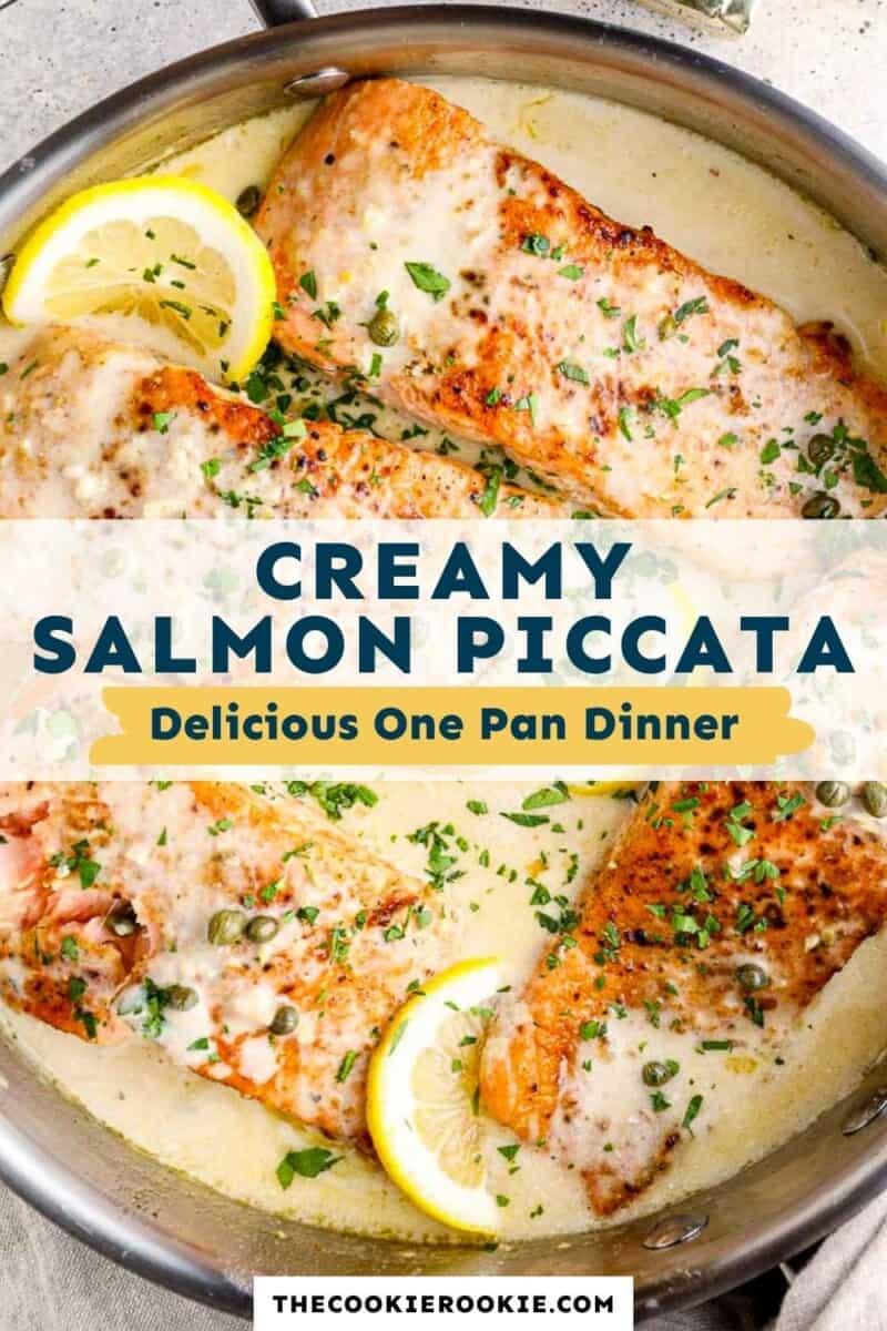 salmon piccata pinterest