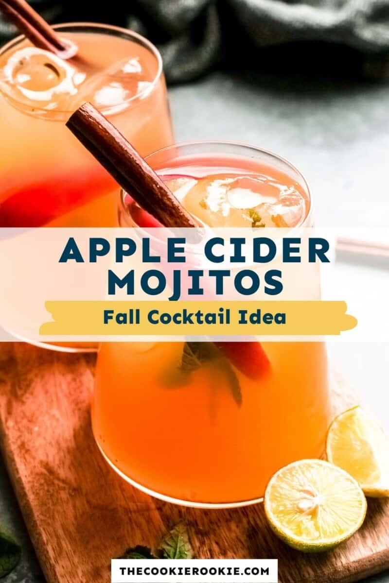 apple cider mojitos pinterest