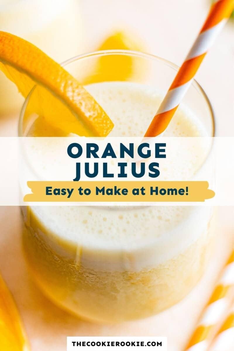 orange julius pinterest