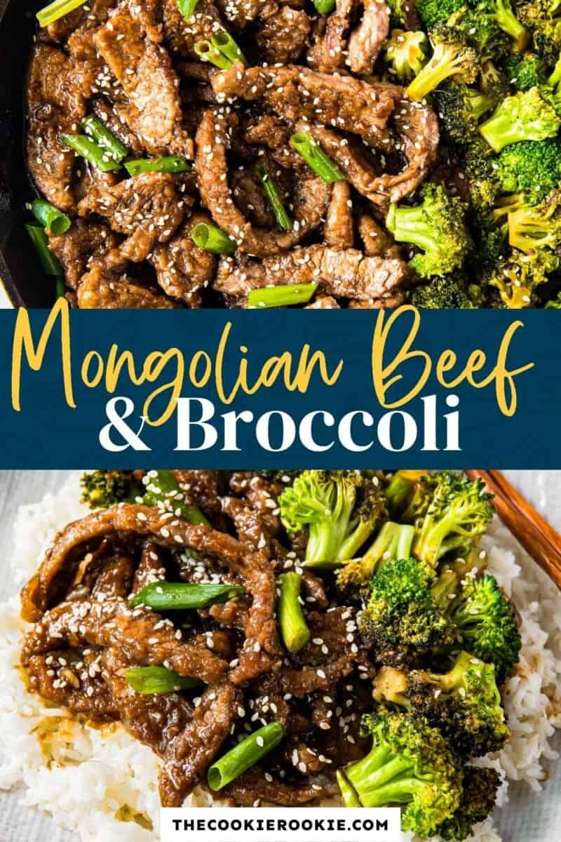 mongolian beef and broccoli pinterest