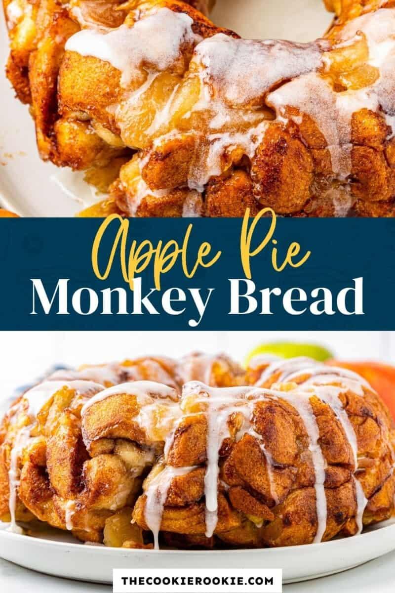 apple pie monkey bread pinterest
