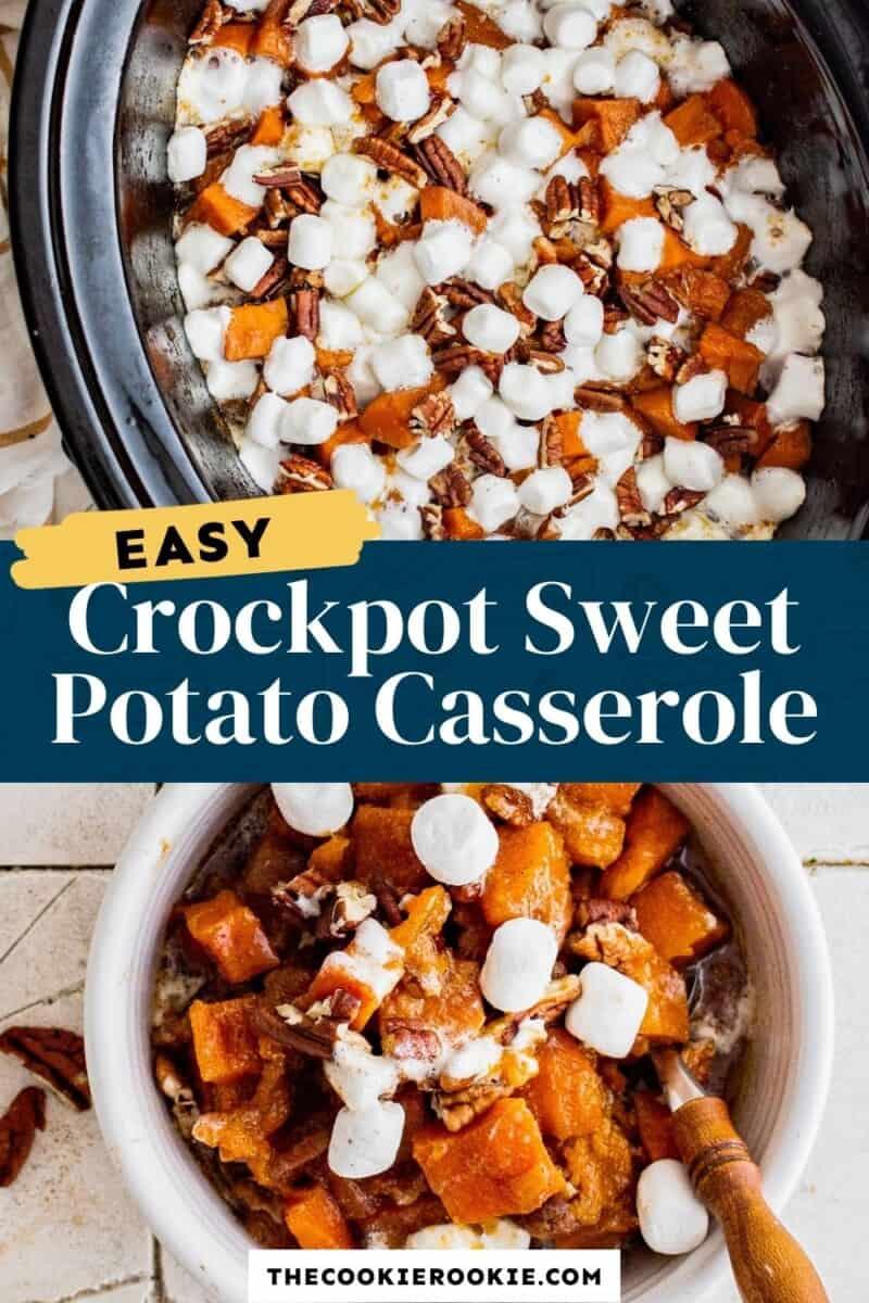 crockpot sweet potato casserole pinterest
