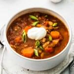 featured instant pot turkey chili