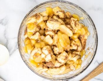 how to make apple pie monkey bread