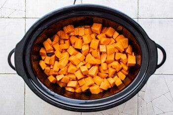 how to make crockpot sweet potato casserole