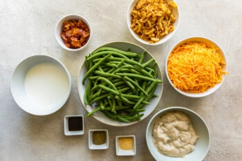 how to make loaded green bean casserole