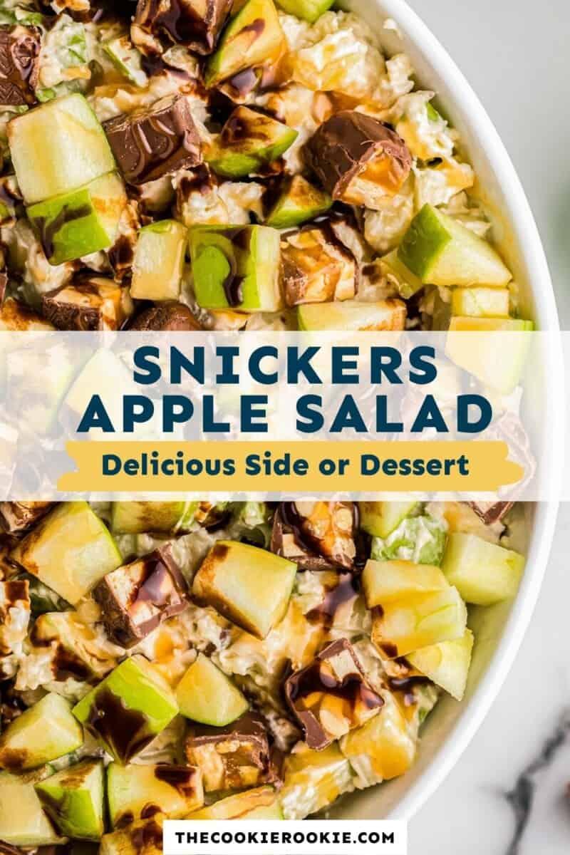 snickers apple salad pinterest