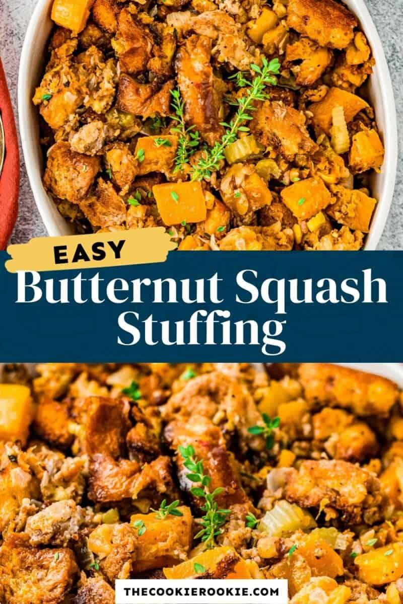 butternut squash stuffing pinterest