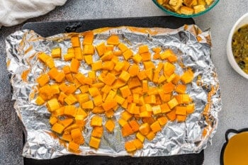 how to make butternut squash stuffing